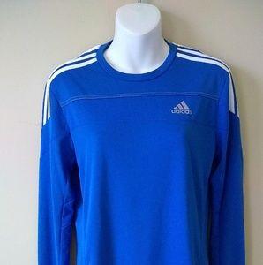 Adidas Climalite Performance Long Sleeve Shirt XS